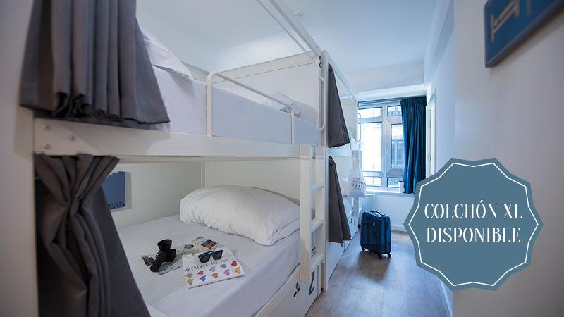 Habitación femenina de 4 camas